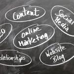 marketing, content, blog, social media for agents