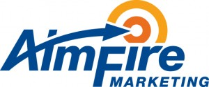 AimFire Marketing Logo: Circa 2010